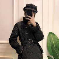 2019新款黑色短款羽绒服女冬季时尚气质修身显瘦轻薄百搭外套女