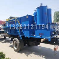 酸洗磷化塑料颗粒布草洗涤豆制品污水处理设备推荐溶气气浮机