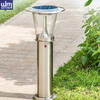 太阳能草坪灯不锈钢室外防水庭院灯中欧式LED公园草地灯产地中山