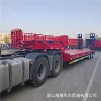 低平板半挂运输车促销大件运输半挂车型号