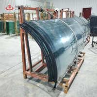 【工厂定做】荣科厂家直销中空钢化玻璃特种热弯防火玻璃6+12a+6