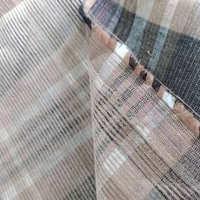 色织的灯芯绒棉/人棉交织面料灯芯绒卡其格子面料