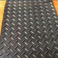 厂家推荐多色防滑橡胶板防滑效果好细条纹耐磨橡胶板