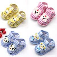 凉鞋婴儿鞋0-1岁宝宝鞋春夏软底点胶童鞋学步鞋CX031