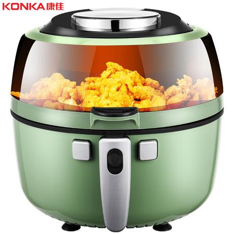 konka/康佳6.5升容量空气炸锅家用全自动智能无油无烟空气能烤箱