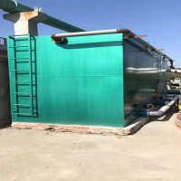 河南驻马店全自动净水器工艺流程江河湖泊水一体化净水器结构图