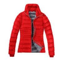 万得利羽绒服女士韩版女式棉衣防风保暖大衣亚马逊外贸工厂定制
