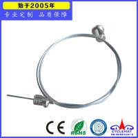厂家直销优质LED灯箱钢线绳吊线广告牌吊绳五金配件