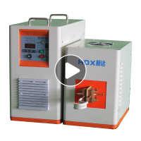 小型高频金属加热机高频感应加热机40kw手持式超高频加热设备