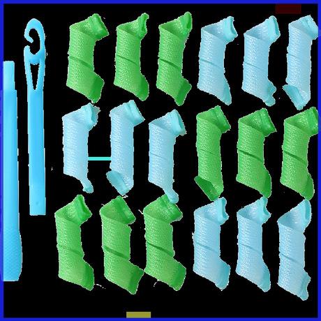 小型卷发器卷器女生工具筒短头发塑料棒自动复古寝室手动大卷