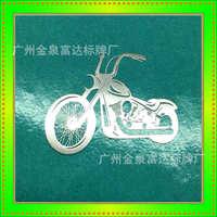 标贴数码立体花纹工艺装饰标贴皮具超薄电镀logo商标金属标贴