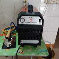 自动加水带副水箱工业锅炉烫斗小型电加热蒸汽熨斗电熨斗带锅炉