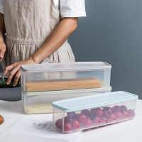 面收条鲜盒厨房杂保挂面密封盒冰箱沥水保鲜盒子粮冻冷纳盒储物盒