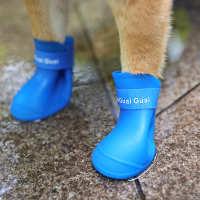 狗狗鞋子夏小型犬不掉泰迪一套4只比熊宠物四季软底脚套防水雨鞋