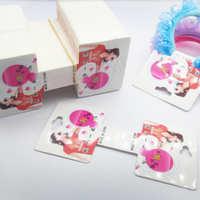 饰品包装用品卡片头饰皮筋发绳包装纸卡1元2元饰品卡纸批发