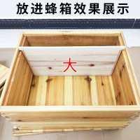 永蜂箱大小隔板蜜蜂标准保温板杉木中隔板意蜂小挡板养蜂工具包顺
