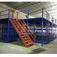 阁楼平台货架可拆装钢结构搭建设计库房隔加二层仓库重型货架