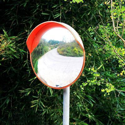 高档道路室外广角镜60CM80CM100CM120cm凹面镜反光镜车库镜凸面