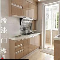 多层实木欧式烤漆门板定制钢琴汽车烤漆橱柜门整体厨房衣柜门定做