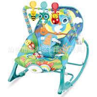 批发婴儿摇椅宝宝多功能音乐震动摇床儿童休闲摇椅躺椅哄娃神器