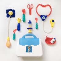 cikoo过家家听诊器儿童医生玩具套装益智仿真医药手提箱