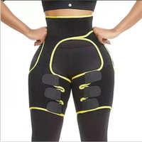 亚马逊爆款三合一提臀带爆汗束腰带运动收腹带健美连体束腰绑腿带