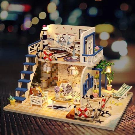 批发diy小屋浪漫之旅小型别墅小房子手工模型拼装送女孩玩具创意