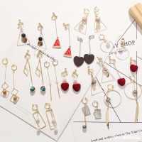 几何型 女式 耳夹耳饰日系耳环