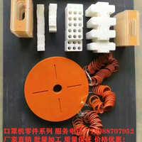 红色电木板绝缘合成石隔热板尼龙棒口罩机PP板零配件模具加工定制
