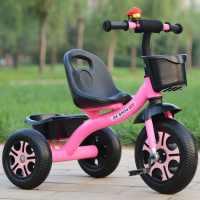 儿童三轮车脚踏车小孩单车1-3-5岁手推车男女玩具童车宝宝自行车