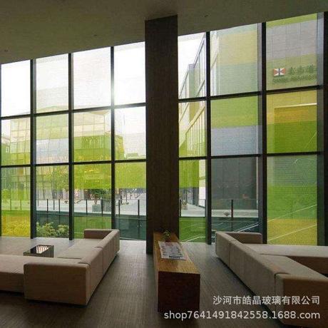厂家直销供应5mm6mm钢化玻璃夹胶中空专业定制尺寸加工玻璃