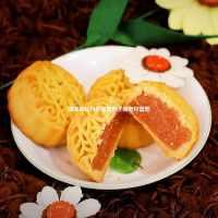 广式迷你水果小月饼五仁豆沙月饼独立包装多口味糕点中秋月饼礼盒