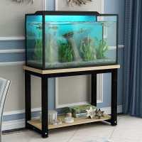 鱼缸架子家用铁艺小型底柜不锈钢底架底座草缸柜子桌子多层置物架