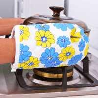 隔热微波炉烤箱专用烘培手套创意厨房防滑耐高温防烫手套两件套
