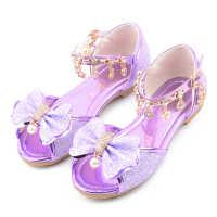 女童凉鞋2020新款韩版夏季时尚软底小女孩公主鞋中大童平底儿童鞋