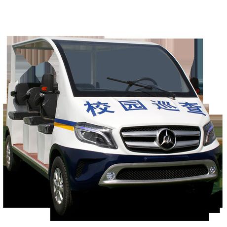 4-14新能源物业保安旅游景区观光看房巡逻四轮车电动电瓶车