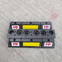 地下停车场交通设施橡胶挡车器实心停位器止位器阻车器