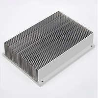 厂家批发一体式水冷散热器汽车水冷散热器方型铝合金型材散热器