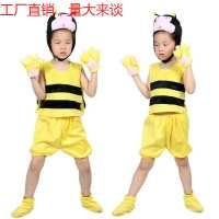 跨境儿童装幼儿园表演服饰短袖舞台服节日卡通演出服批发