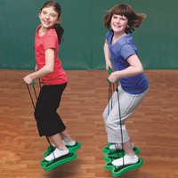 儿童青蛙跳有声弹跳鞋幼儿园教学健身运动玩具户外体育比赛器材