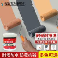 外墙漆室外乳胶漆防水卫生间墙面彩色油漆灰色黑色白色外墙涂料