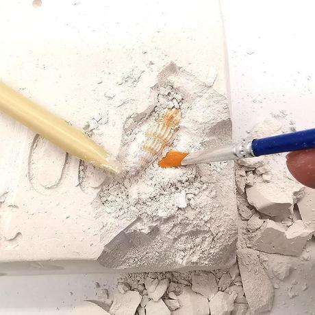 抖音儿童挖宝石盲盒diy考古挖掘宝藏钻石玩具幼儿园亲子益智游戏