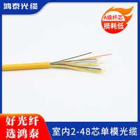 室内2芯48芯单模光缆GJPFJV多规格可定制源头厂家国标正品现货