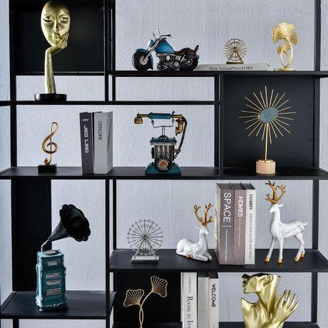北欧轻奢现代玄关客厅电视柜酒柜办公室创意家居饰品装饰小摆件