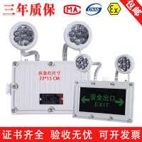 实价防腐防爆双头应急照明灯一体双用防水疏散指示安全标灯