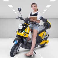 小龟王电动车大功率电动摩托车豪华版48V60V72V男女双人新电瓶车