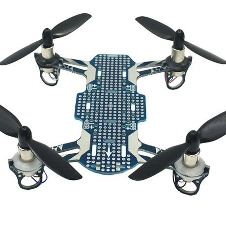 开源四轴小穿越机航模机架820支架小四轴DIY8520空心杯电机