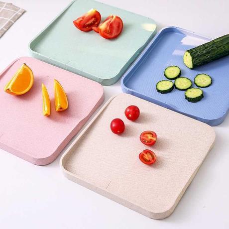 秸秆砧板板麦秸宝宝刀面辅食水果大防霉食粘案板面板家用切菜小麦