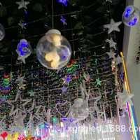 蒲公英LED灯串LED灯笼LED五角星LED星星灯厂家定制装饰灯