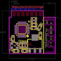 远程定时延时温度语音控制开关机时间电量统计RGB控制WIFI模块
